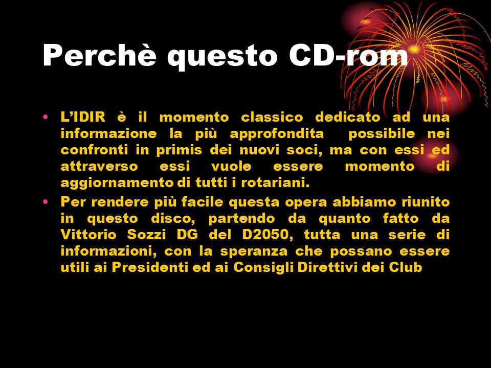 Perchè questo CD-rom