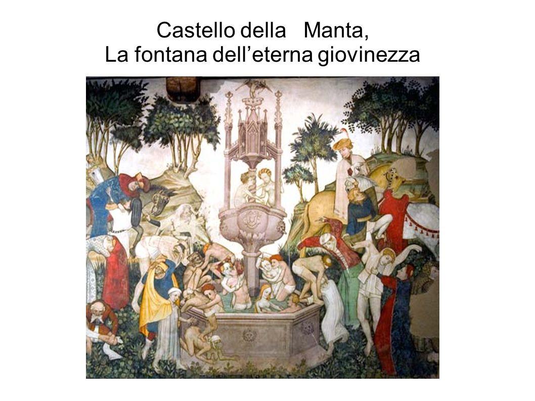 Castello della Manta, La fontana dell'eterna giovinezza