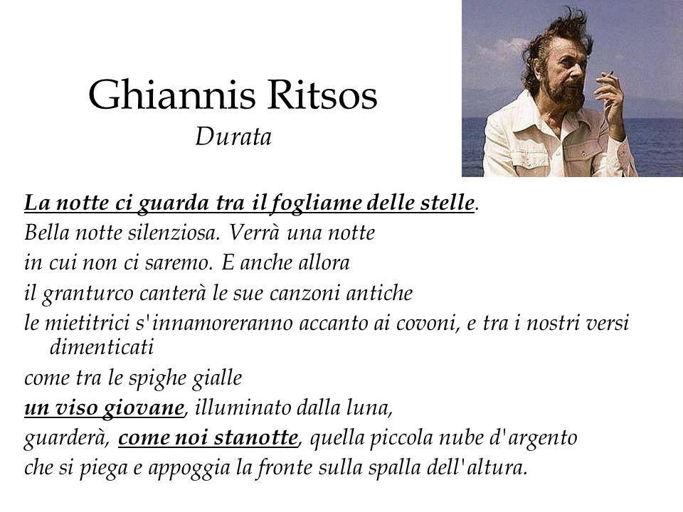 Ghiannis Ritsos Durata