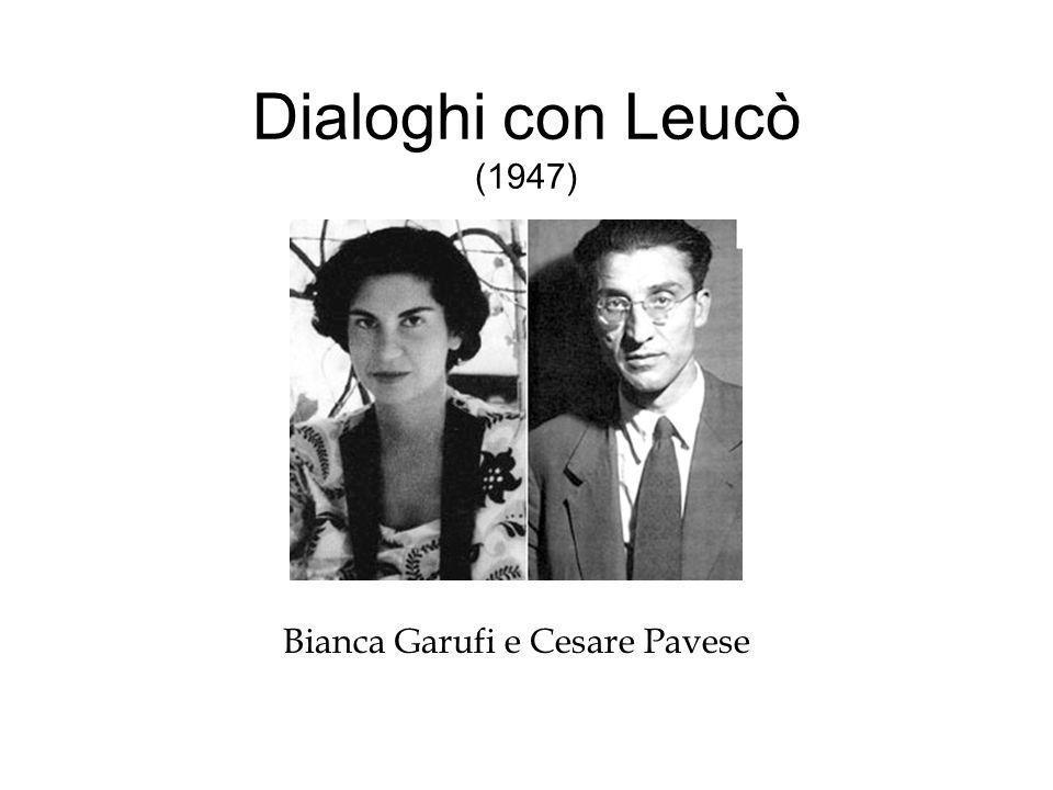 Dialoghi con Leucò (1947) Bianca Garufi e Cesare Pavese