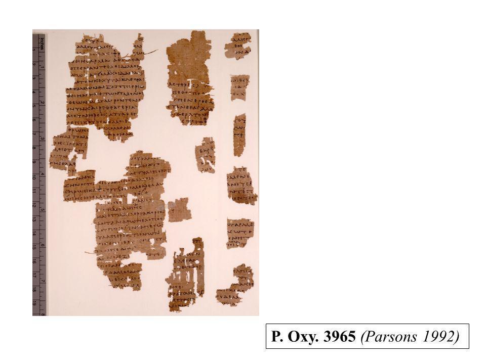 P. Oxy. 3965 (Parsons 1992)