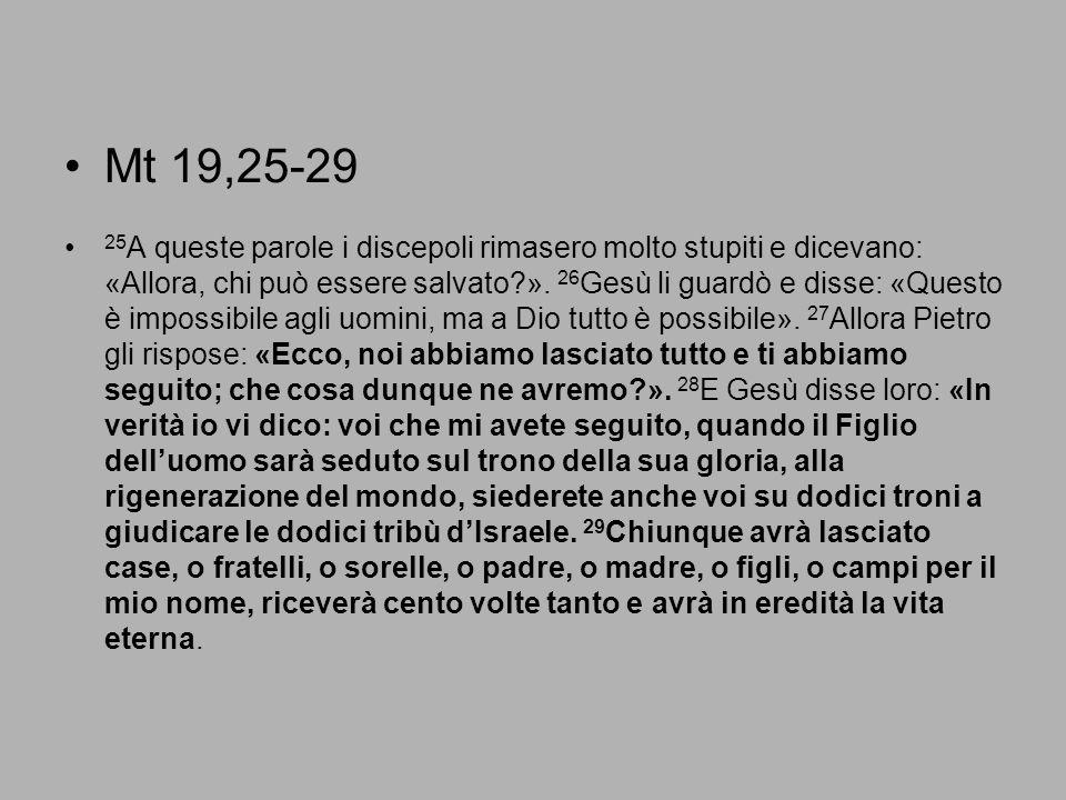 Mt 19,25-29