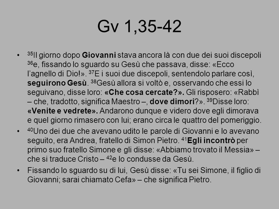 Gv 1,35-42