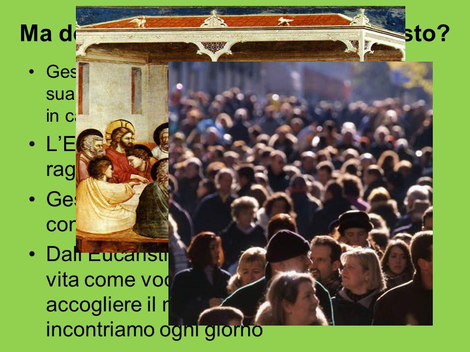 Ma dove accade l'incontro con Cristo