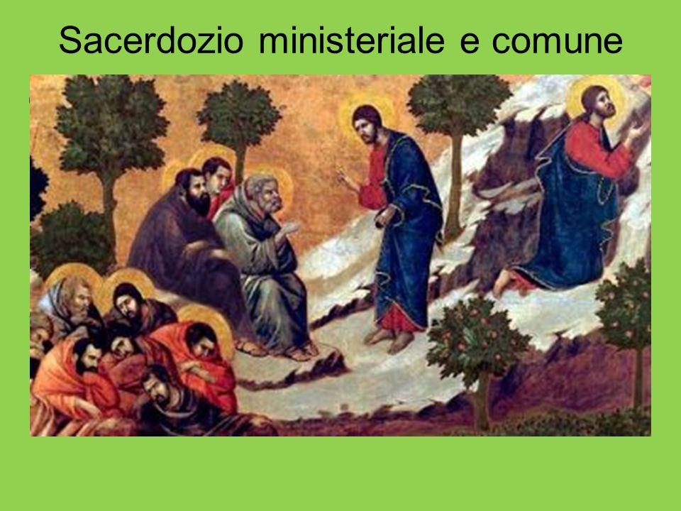 Sacerdozio ministeriale e comune