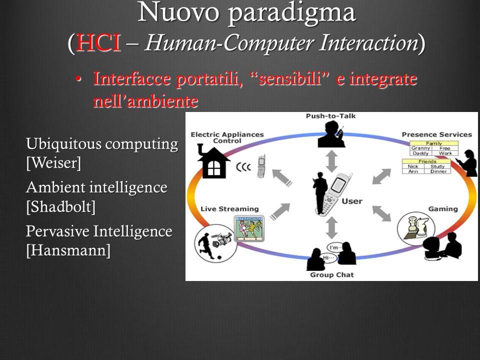 Nuovo paradigma (HCI – Human-Computer Interaction)