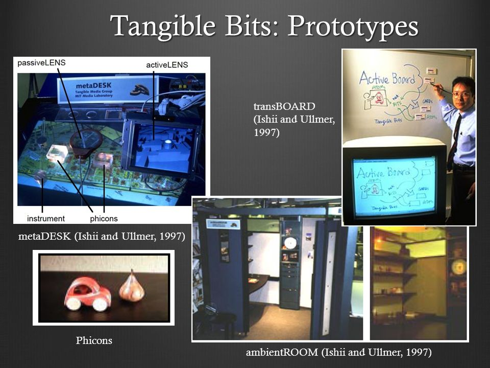 Tangible Bits: Prototypes