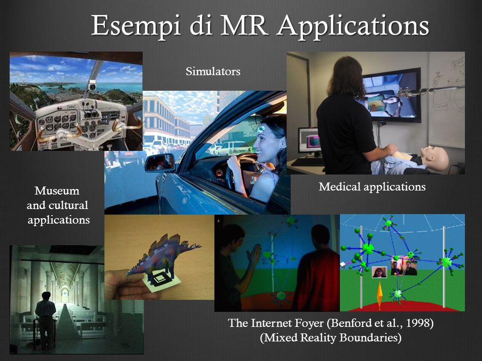 Esempi di MR Applications