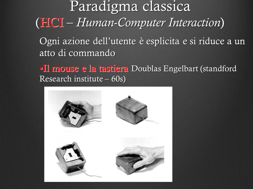 Paradigma classica (HCI – Human-Computer Interaction)