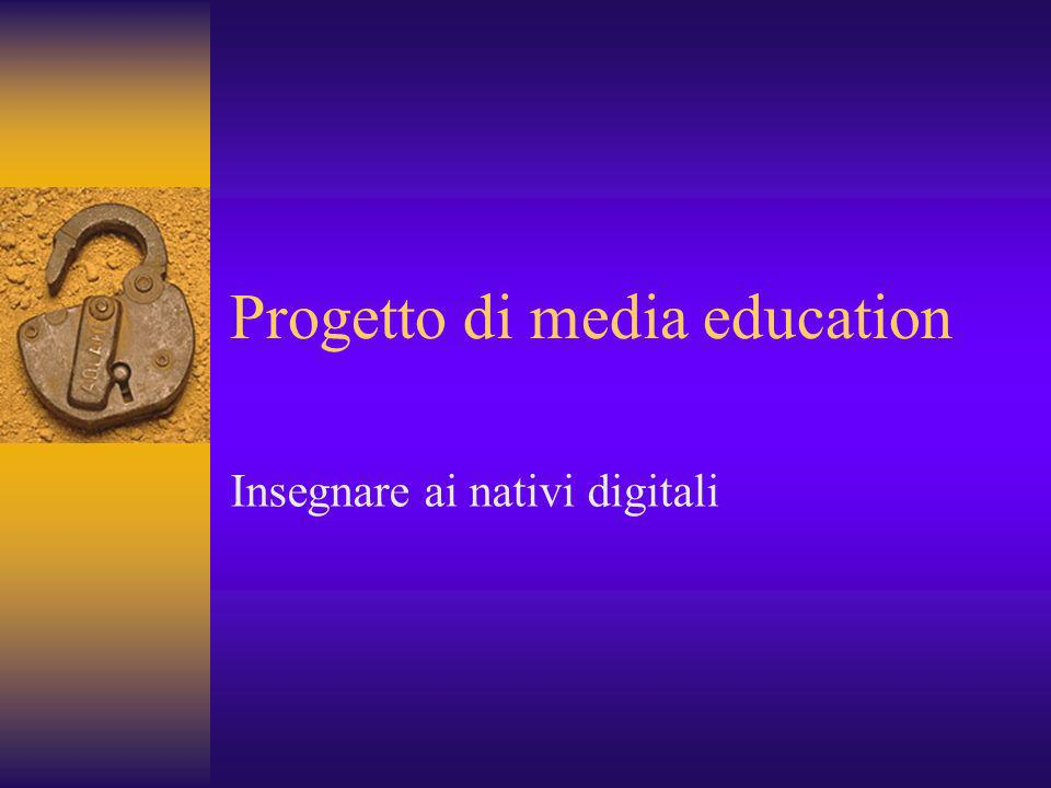 Progetto di media education