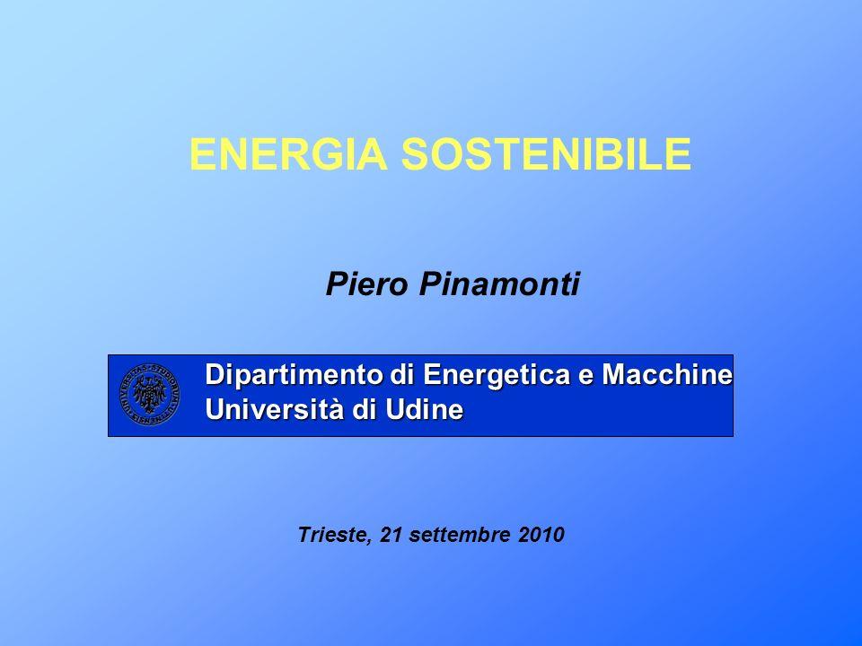 ENERGIA SOSTENIBILE Piero Pinamonti