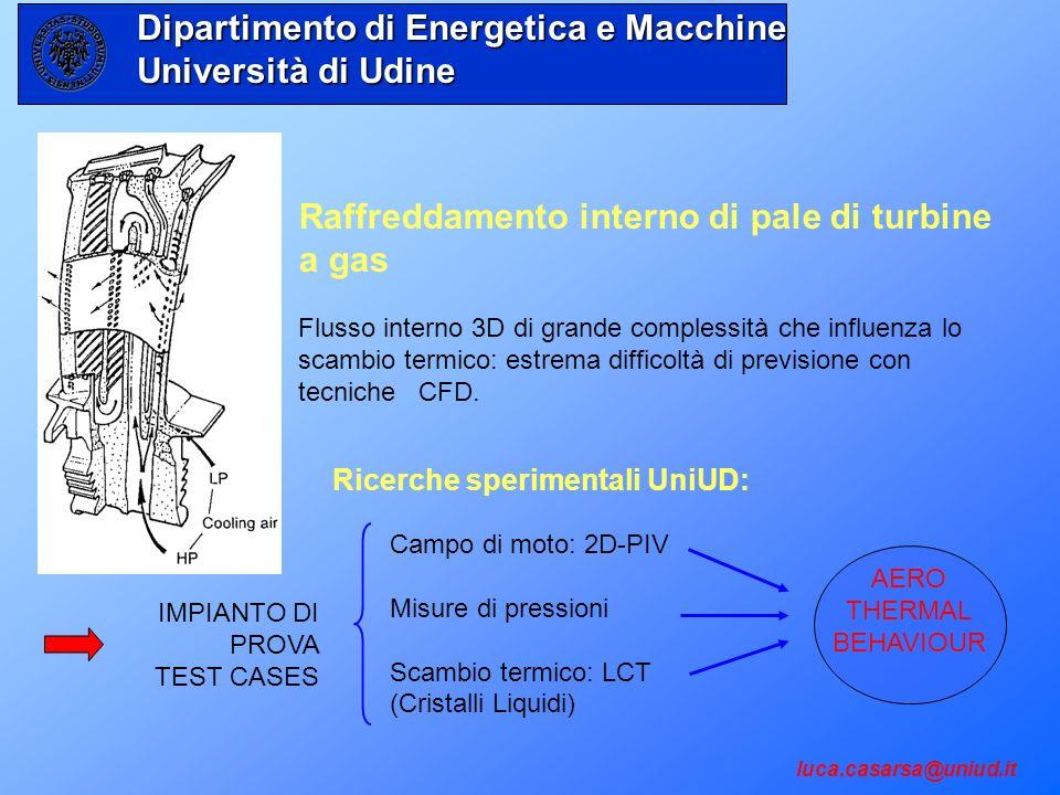 Dipartimento di Energetica e Macchine Università di Udine