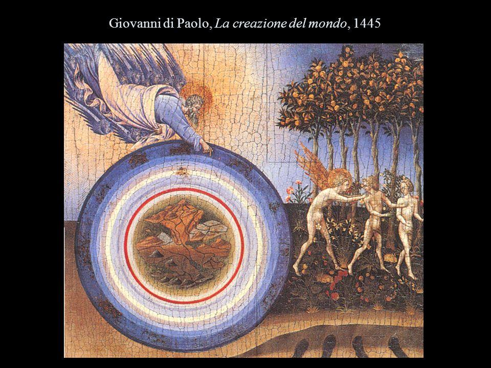 Giovanni di Paolo, La creazione del mondo, 1445