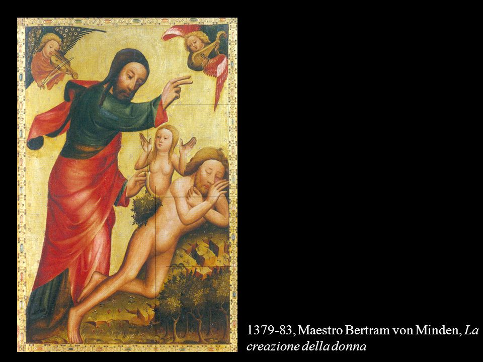 1379-83, Maestro Bertram von Minden, La creazione della donna