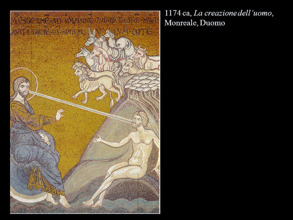 1174 ca, La creazione dell'uomo, Monreale, Duomo
