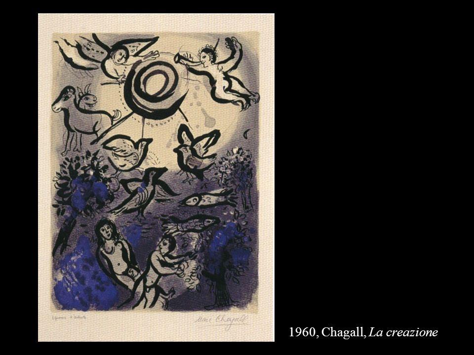 1960, Chagall, La creazione