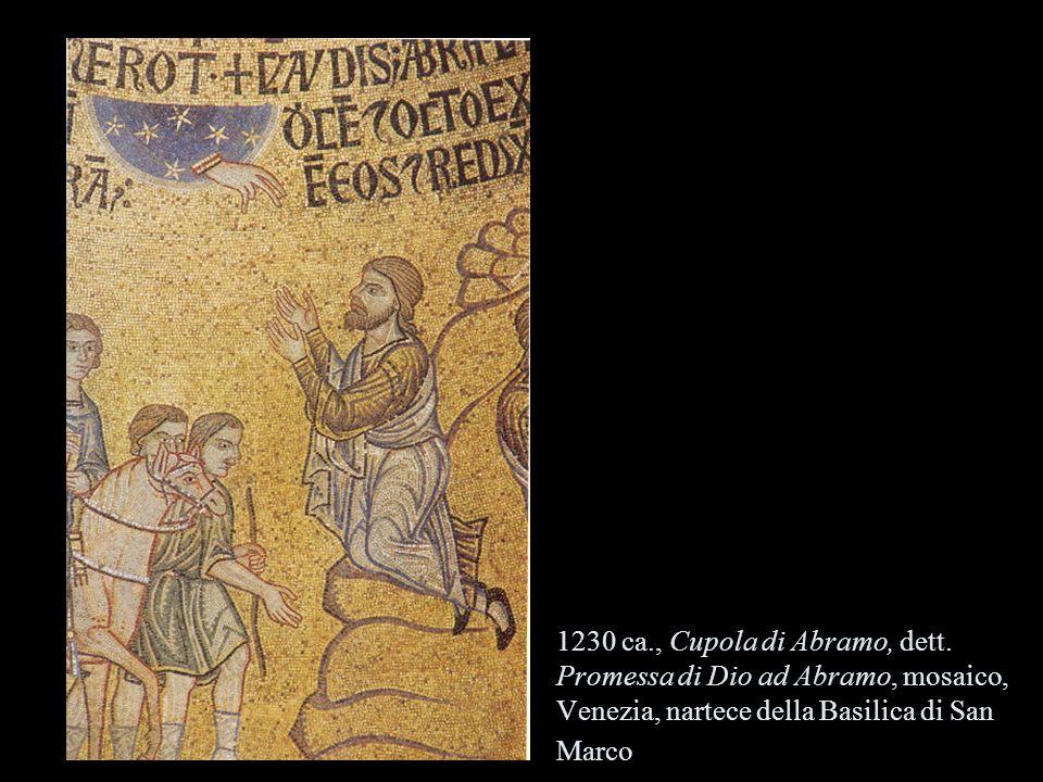 1230 ca. , Cupola di Abramo, dett