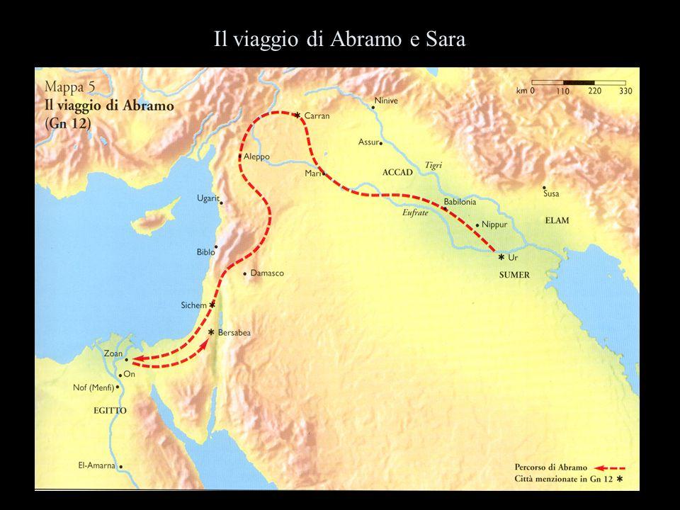 Il viaggio di Abramo e Sara