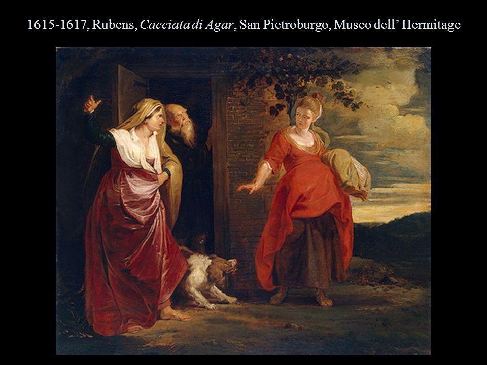 1615-1617, Rubens, Cacciata di Agar, San Pietroburgo, Museo dell' Hermitage