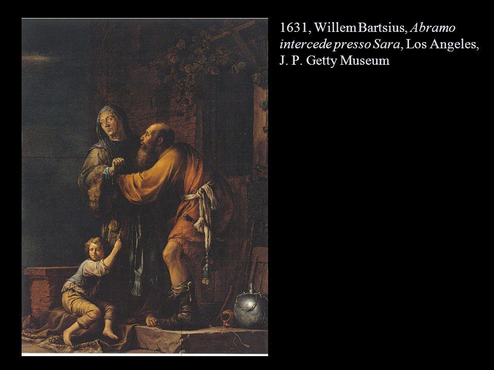 1631, Willem Bartsius, Abramo intercede presso Sara, Los Angeles, J. P