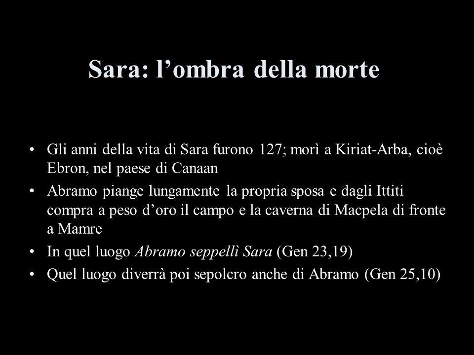 Sara: l'ombra della morte