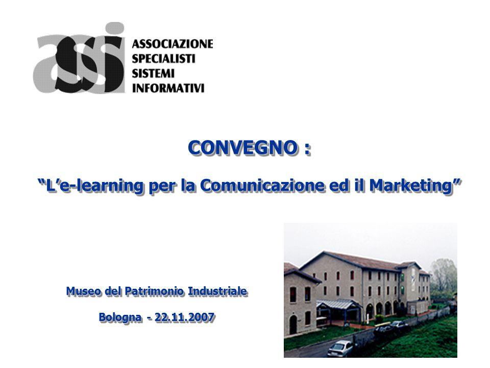 CONVEGNO : L'e-learning per la Comunicazione ed il Marketing