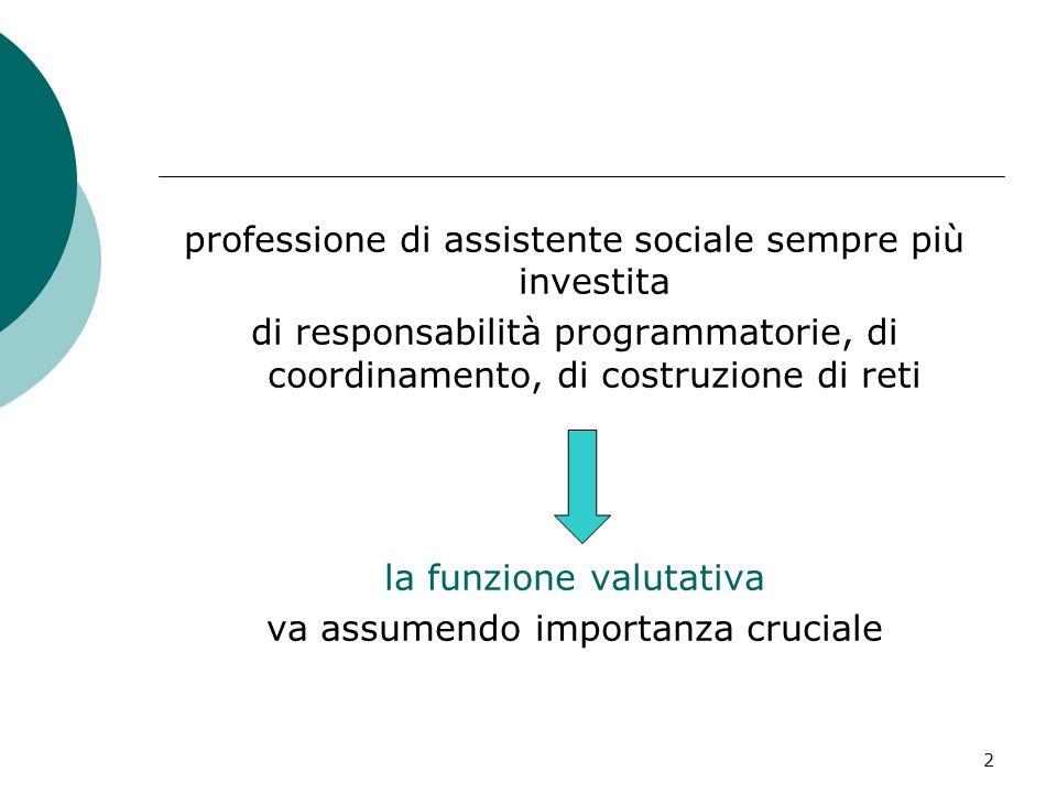 professione di assistente sociale sempre più investita