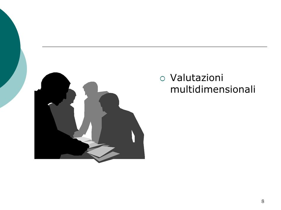 Valutazioni multidimensionali