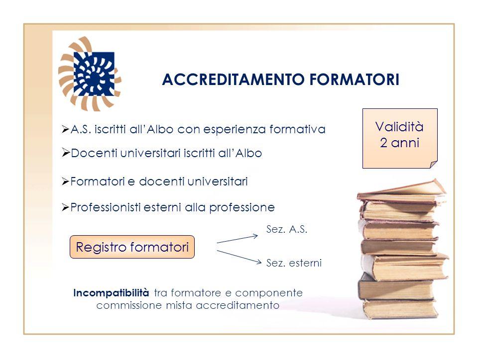 ACCREDITAMENTO FORMATORI