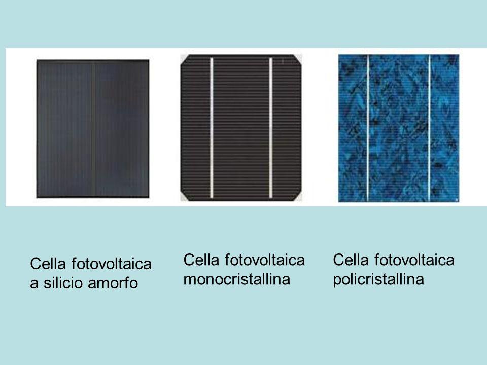 Cella fotovoltaica monocristallina