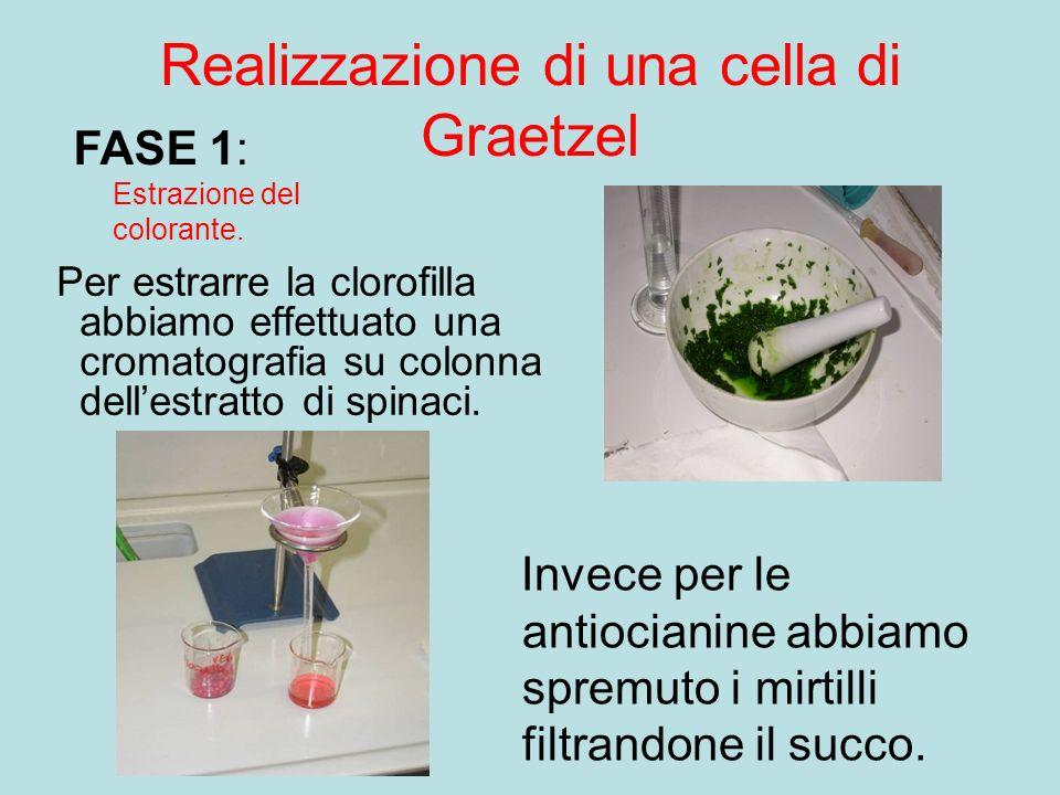Realizzazione di una cella di Graetzel