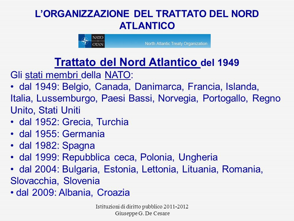 Trattato del Nord Atlantico del 1949
