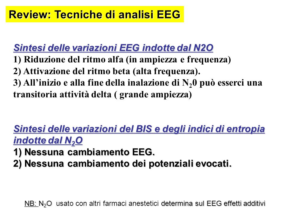 Review: Tecniche di analisi EEG