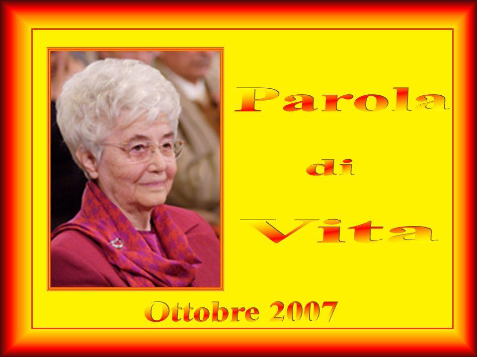 Parola di Vita Ottobre 2007