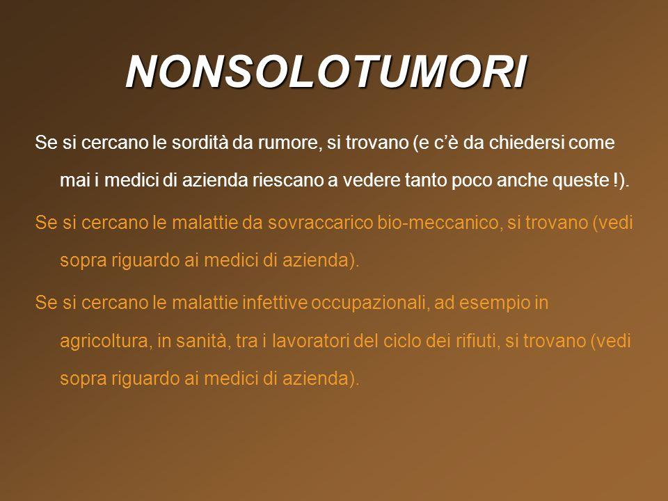 NONSOLOTUMORI