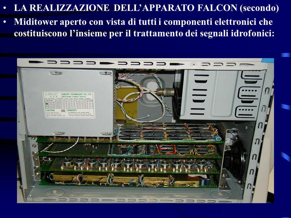LA REALIZZAZIONE DELL'APPARATO FALCON (secondo)