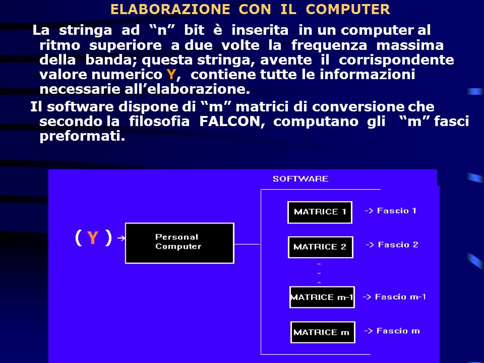 ELABORAZIONE CON IL COMPUTER