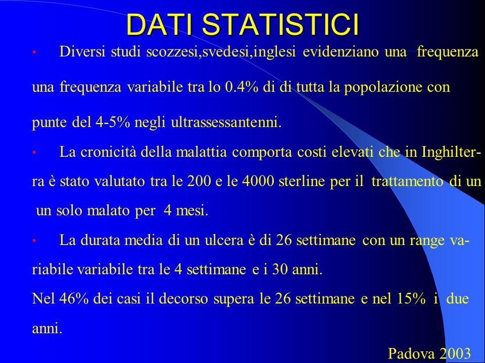 DATI STATISTICIDiversi studi scozzesi,svedesi,inglesi evidenziano una frequenza. una frequenza variabile tra lo 0.4% di di tutta la popolazione con.