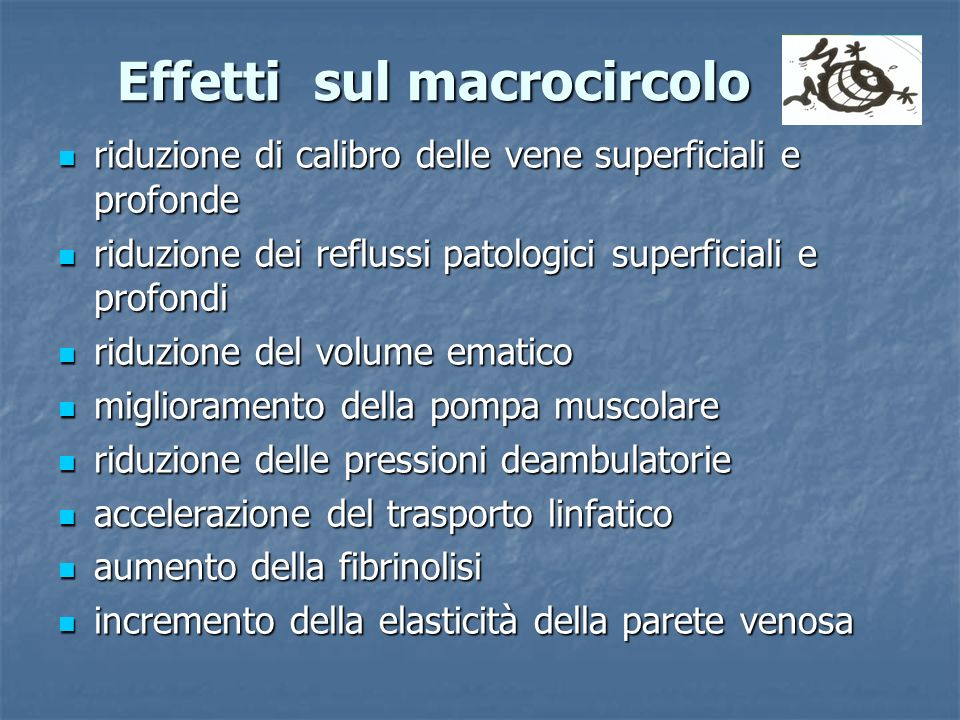 Effetti sul macrocircolo