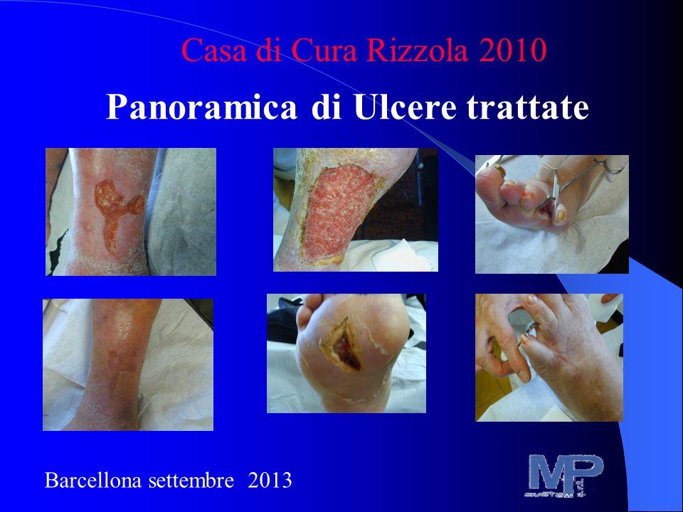 Panoramica di Ulcere trattate