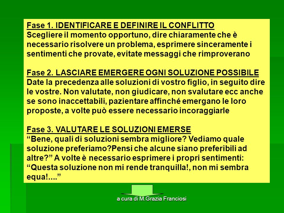 a cura di M.Grazia Franciosi