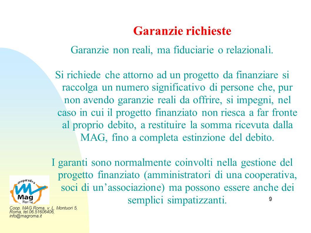 Garanzie non reali, ma fiduciarie o relazionali.