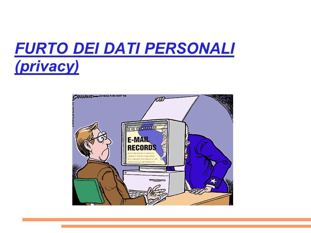 FURTO DEI DATI PERSONALI (privacy)