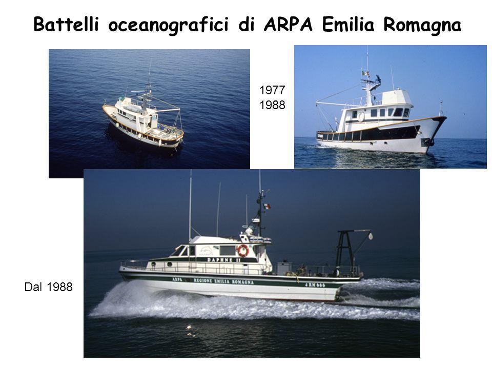 Battelli oceanografici di ARPA Emilia Romagna