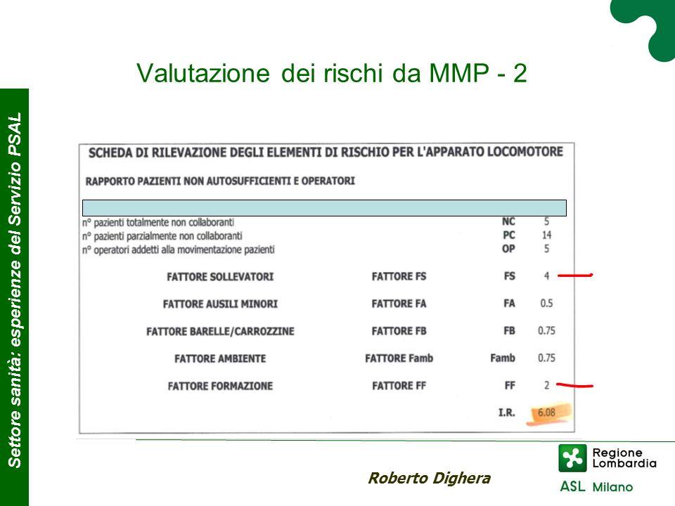 Valutazione dei rischi da MMP - 2