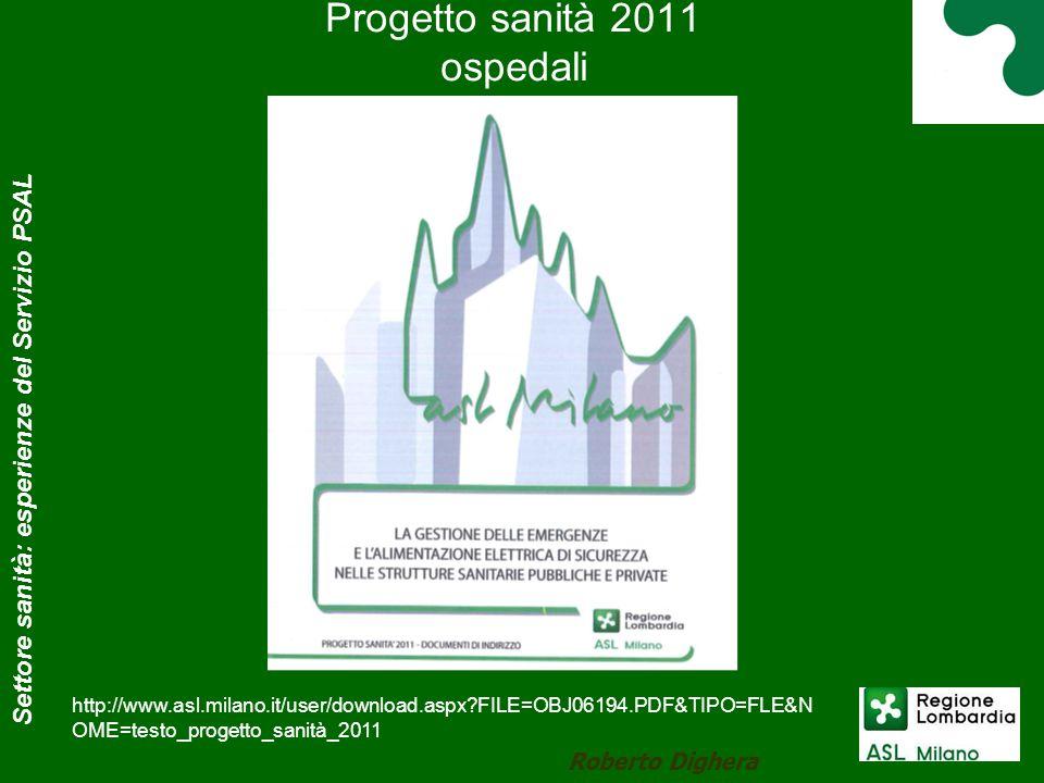 Progetto sanità 2011 ospedali