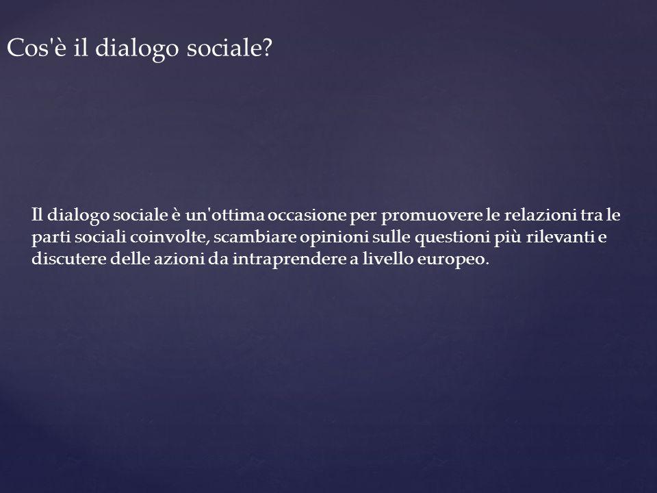 Cos è il dialogo sociale