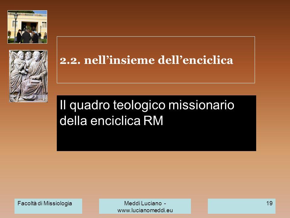 2.2. nell'insieme dell'enciclica