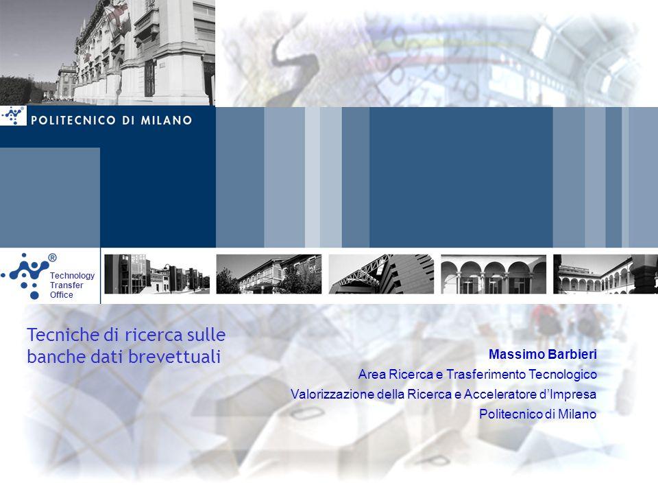 Tecniche di ricerca sulle banche dati brevettuali