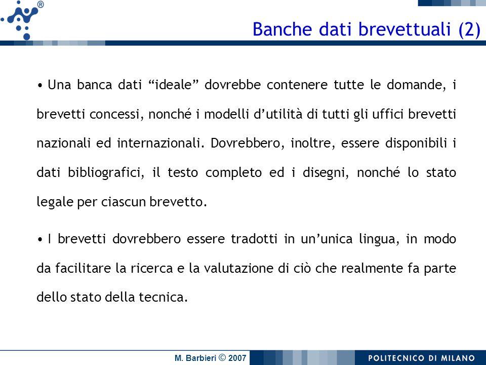 Banche dati brevettuali (2)